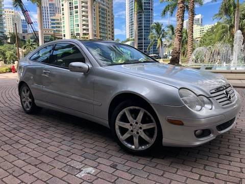 2005 Mercedes-Benz C-Class for sale at Florida Cool Cars in Fort Lauderdale FL