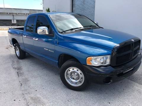 2005 Dodge Ram Pickup 1500 for sale at Florida Cool Cars in Fort Lauderdale FL
