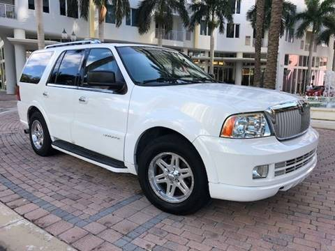 2005 Lincoln Navigator for sale at Florida Cool Cars in Fort Lauderdale FL