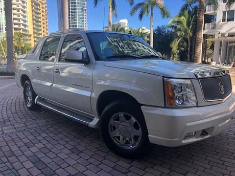 2006 Cadillac Escalade EXT for sale at Florida Cool Cars in Fort Lauderdale FL