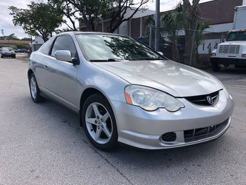 2003 Acura RSX for sale at Florida Cool Cars in Fort Lauderdale FL