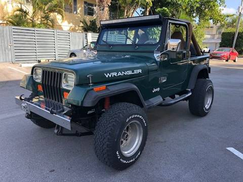 1987 Jeep Wrangler for sale in Fort Lauderdale, FL
