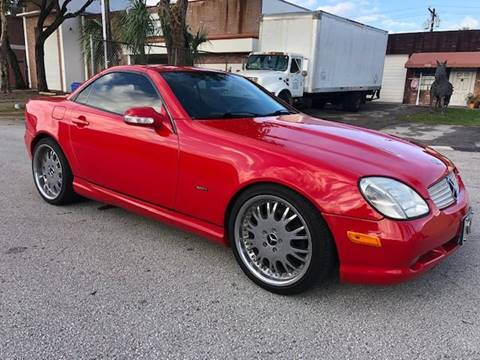 2001 Mercedes-Benz SLK for sale at Florida Cool Cars in Fort Lauderdale FL