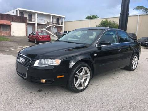 2006 Audi A4 for sale at Florida Cool Cars in Fort Lauderdale FL