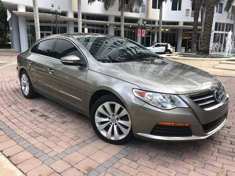 2012 Volkswagen CC for sale at Florida Cool Cars in Fort Lauderdale FL