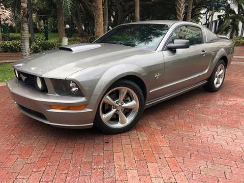 2009 Ford Mustang for sale at Florida Cool Cars in Fort Lauderdale FL