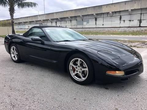 2001 Chevrolet Corvette for sale at Florida Cool Cars in Fort Lauderdale FL