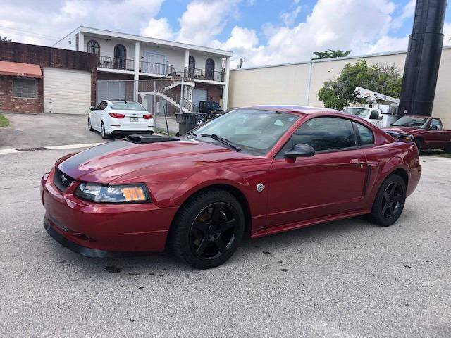 2004 Ford Mustang for sale at Florida Cool Cars in Fort Lauderdale FL