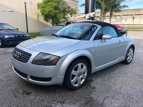 2002 Audi TT for sale at Florida Cool Cars in Fort Lauderdale FL