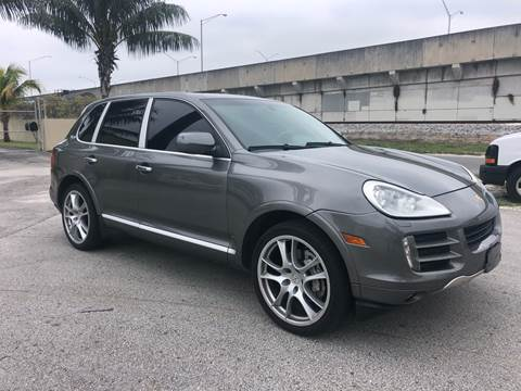 2008 Porsche Cayenne for sale at Florida Cool Cars in Fort Lauderdale FL