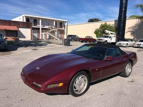 1993 Chevrolet Corvette for sale at Florida Cool Cars in Fort Lauderdale FL