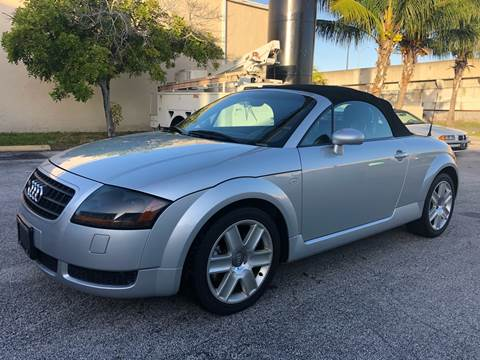 2003 Audi TT for sale at Florida Cool Cars in Fort Lauderdale FL