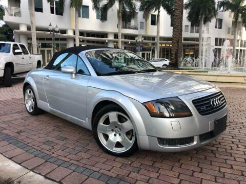 2001 Audi TT for sale at Florida Cool Cars in Fort Lauderdale FL