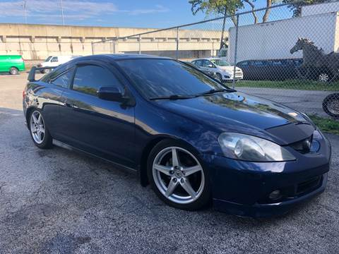 2002 Acura RSX for sale at Florida Cool Cars in Fort Lauderdale FL