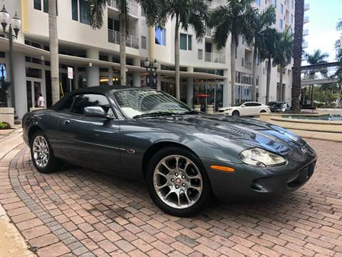 2000 Jaguar XKR for sale at Florida Cool Cars in Fort Lauderdale FL