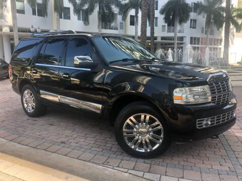 2007 Lincoln Navigator for sale at Florida Cool Cars in Fort Lauderdale FL