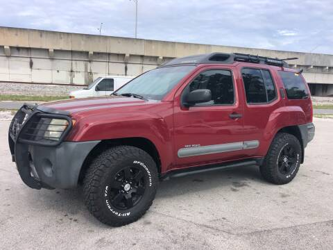 2006 Nissan Xterra for sale at Florida Cool Cars in Fort Lauderdale FL