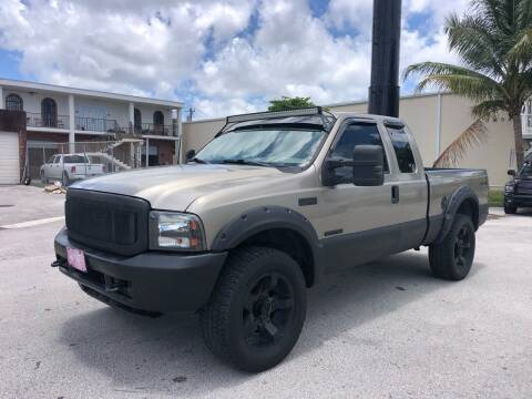 2004 Ford F-250 Super Duty for sale at Florida Cool Cars in Fort Lauderdale FL