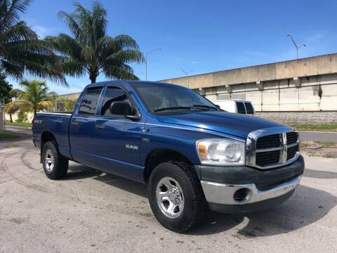 2008 Dodge Ram Pickup 1500 for sale at Florida Cool Cars in Fort Lauderdale FL