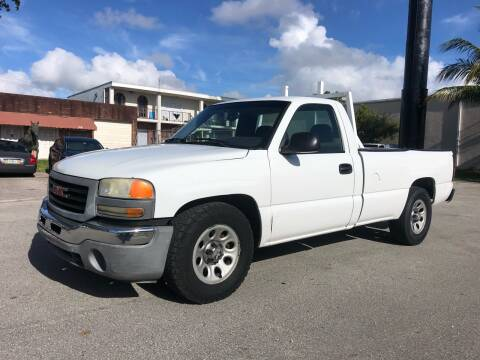 2005 GMC Sierra 1500 for sale at Florida Cool Cars in Fort Lauderdale FL