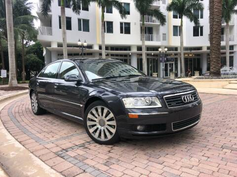 2005 Audi A8 L for sale at Florida Cool Cars in Fort Lauderdale FL