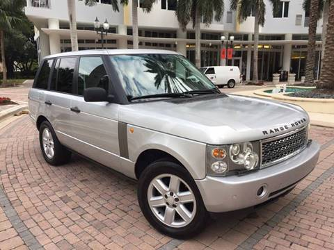 2004 Land Rover Range Rover for sale in Fort Lauderdale, FL