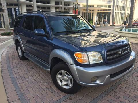 2002 Toyota Sequoia for sale in Fort Lauderdale, FL