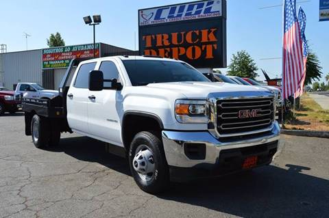 2015 GMC Sierra 3500HD for sale at Sac Truck Depot in Sacramento CA