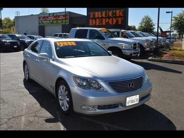 2008 Lexus LS 460 for sale at Sac Truck Depot in Sacramento CA