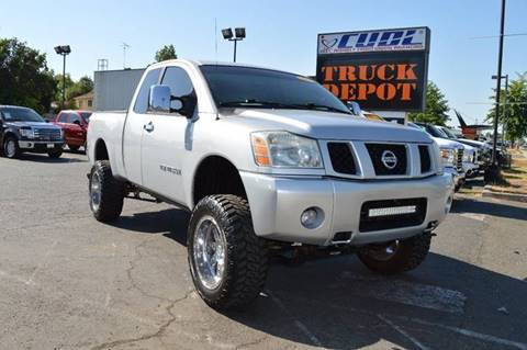 2006 Nissan Titan for sale at Sac Truck Depot in Sacramento CA
