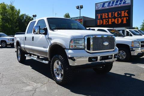 2007 Ford F-250 Super Duty for sale at Sac Truck Depot in Sacramento CA