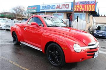 2003 Chevrolet SSR for sale at Sac Truck Depot in Sacramento CA