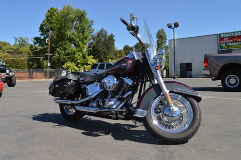 2005 Harley-Davidson HERITAGE  FLSTC for sale at Sac Truck Depot in Sacramento CA