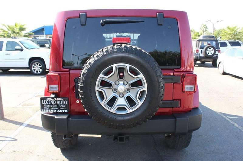 2012 Jeep Wrangler Unlimited for sale at Sac Truck Depot in Sacramento CA