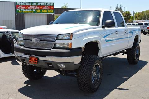 2005 Chevrolet Silverado 2500HD for sale at Sac Truck Depot in Sacramento CA