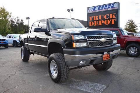2005 Chevrolet Silverado 2500HD for sale at Sac Truck Depot in Sacramento CA