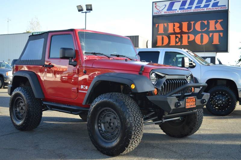 2007 Jeep Wrangler For Sale At Sac Truck Depot In Sacramento CA