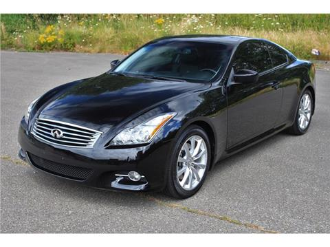 G37 Coupe For Sale >> 2013 Infiniti G37 Coupe For Sale In Bremerton Wa
