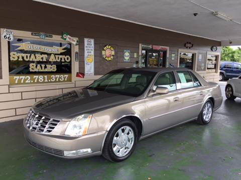 2007 Cadillac DTS for sale in Stuart, FL
