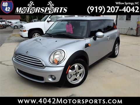 2010 MINI Cooper Clubman for sale in Willow Spring, NC