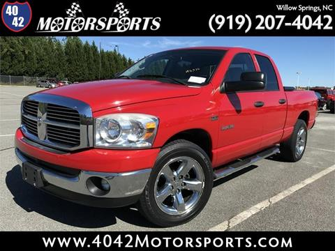 2008 Dodge Ram Pickup 1500 for sale in Willow Spring, NC