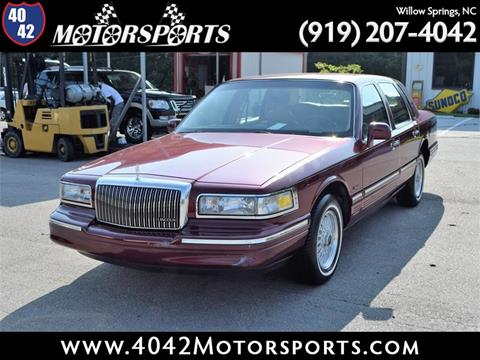 1997 Lincoln Town Car For Sale In Topeka Ks Carsforsale Com