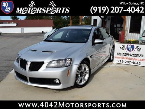 2009 Pontiac G8 for sale in Willow Spring, NC