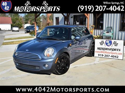 2010 MINI Cooper for sale in Willow Spring, NC