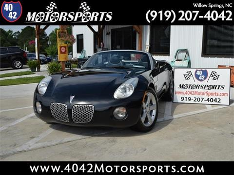 2008 Pontiac Solstice for sale in Willow Spring, NC