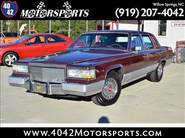 1992 Cadillac Brougham for sale in Willow Spring, NC