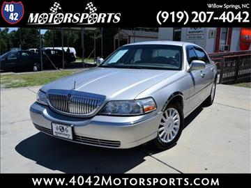 2005 Lincoln Town Car for sale in Willow Spring, NC