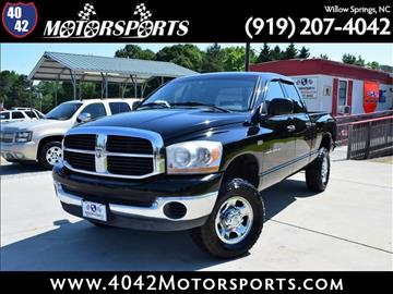 2006 Dodge Ram Pickup 2500 for sale in Willow Spring, NC