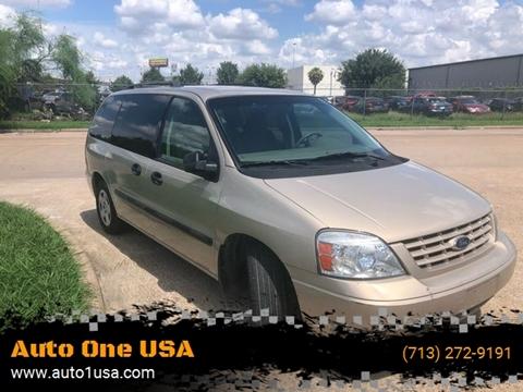 2007 Ford Freestar for sale in Stafford, TX