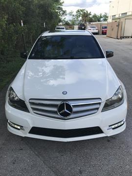 2013 Mercedes-Benz C-Class for sale in Deerfield Beach, FL